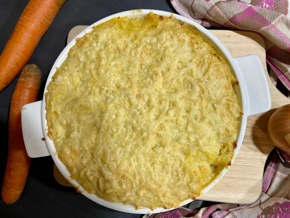Hutspot ovenschotel met gehakt