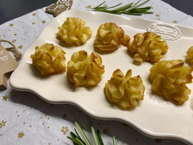 Pommes duchesse, hertoginnenaardappelen