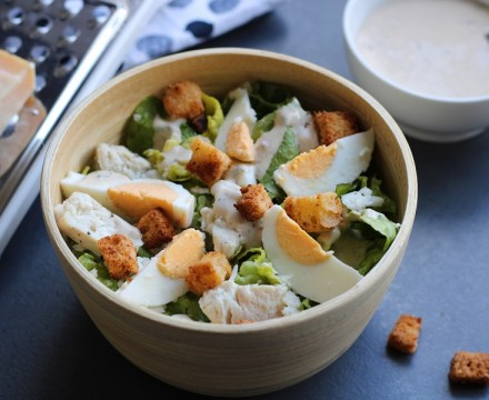 Caesarsalade glutenvrij