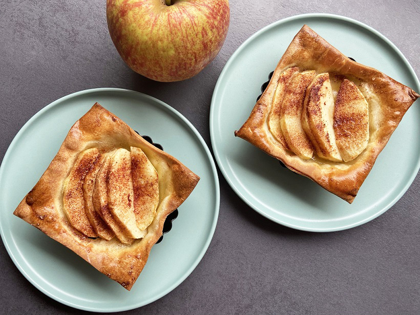 Glutenvrije mini appeltaartjes