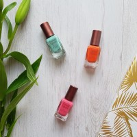 Summer ready nails | Barry M Coconut Infusion Swatches and Review