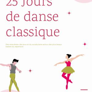 Couverture Calendrier de l'Avent - Ballet