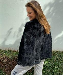 Cape Fur Black