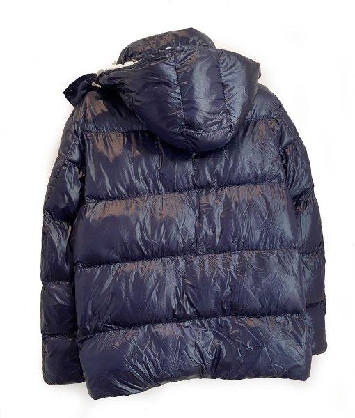 Navy Puffer Jacket