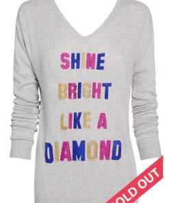 shone bright like a diamond sweater