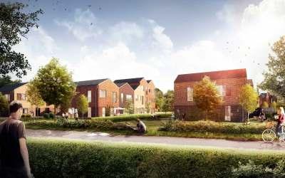 60 nye rækkehuse i Hillerød
