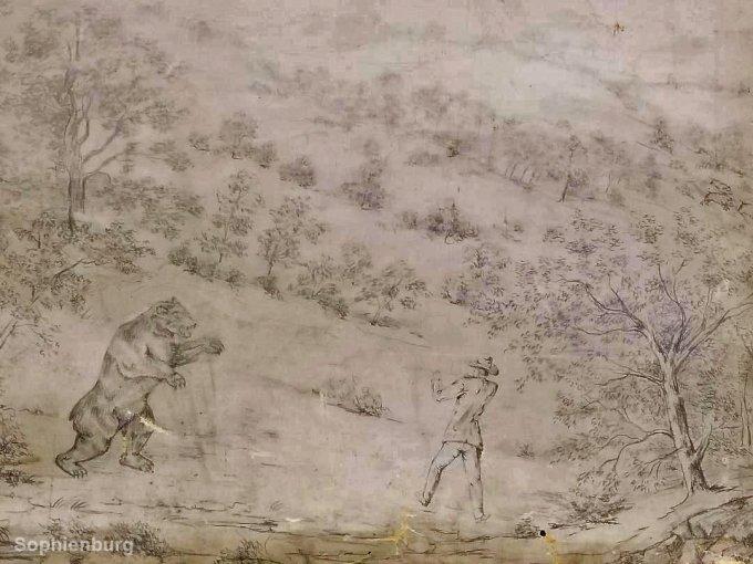 "Oscar Friedrich's ""The Dominating Bruin"", c1885"