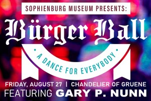 Buerger Ball - A Dance for Everybody - August 27, 2021 - Chandelier of Gruene