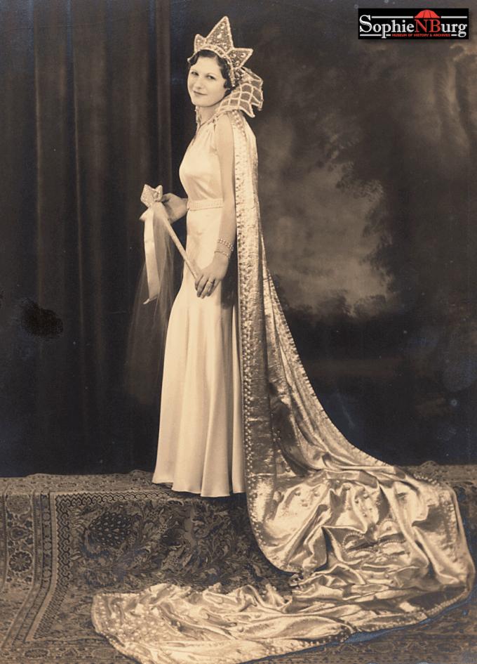 1931 Comal County Fair Queen Elsie Meyer, the last queen until 1967. (Comal County Fair Association photo collection)