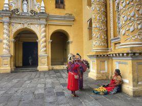 Antigua. Iglesia de la Merced