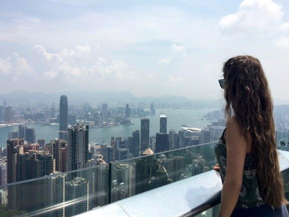 HK, la vista da Victoria Peak
