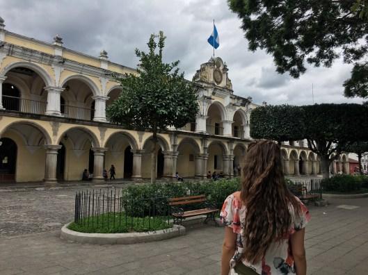 Antigua. Palacio de los Capitanes Generales