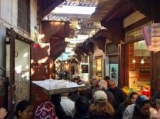 Fès. Il mercato della medina