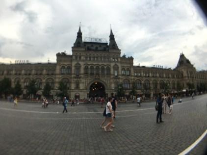 Mosca. Magazzini GUM, Piazza Rossa