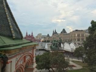 Mosca. La Piazza Rossa