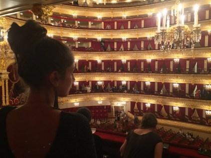 Mosca. Teatro Bolshoi