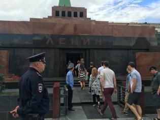 Mosca. Mausoleo di Lenin, Piazza Rossa