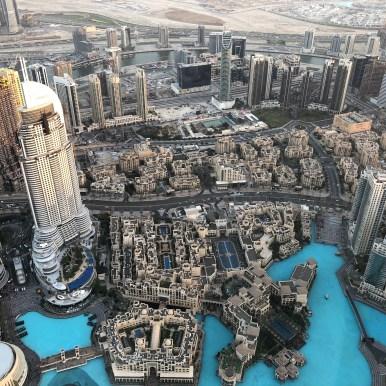 Dubai, vista dal Burj Khalifa