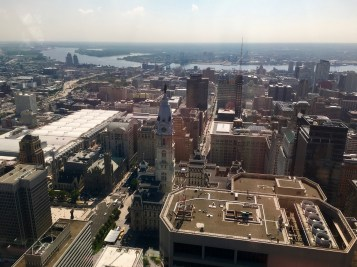 Philly dal One Liberty Observation deck