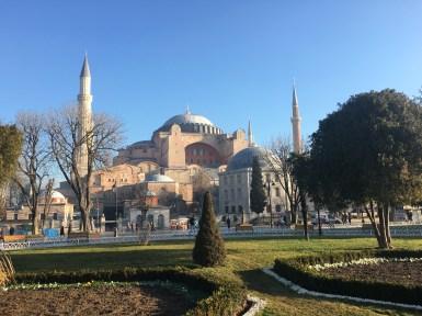 Istanbul, Aya Sofya