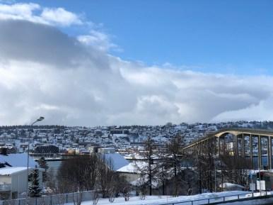 Tromsø, la vista dalla Cattedrale dell'Artico
