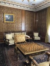 Bucarest, Palazzo Primaverii, studio