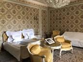 Bucarest, Palazzo Primaverii, camera da letto di Elena e Nicolae