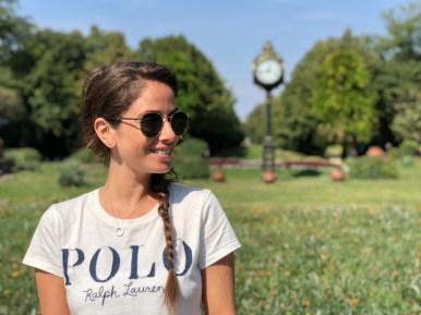 Bucarest, giardino Cismigiu