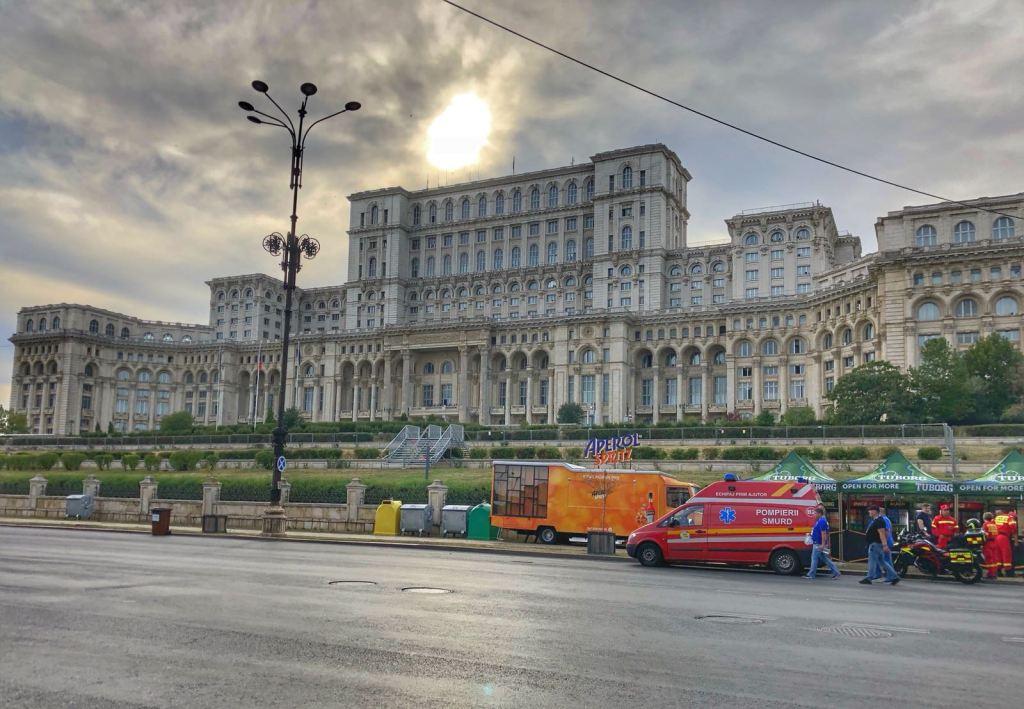 Bucarest, Palazzo del Parlamento