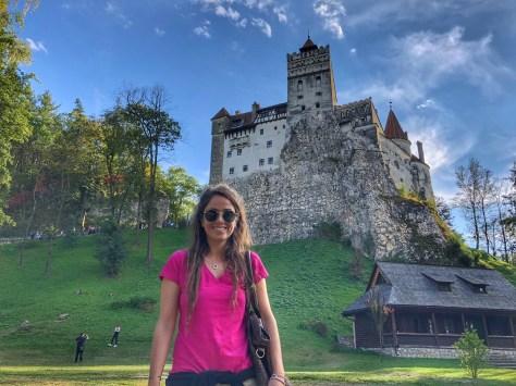 Transylvania, castello di Bran