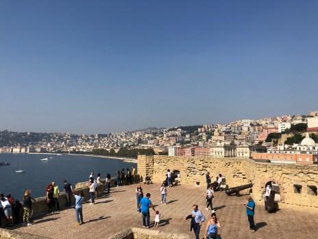 La vista dal castello