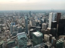 Toronto, vista dalla Cn Tower