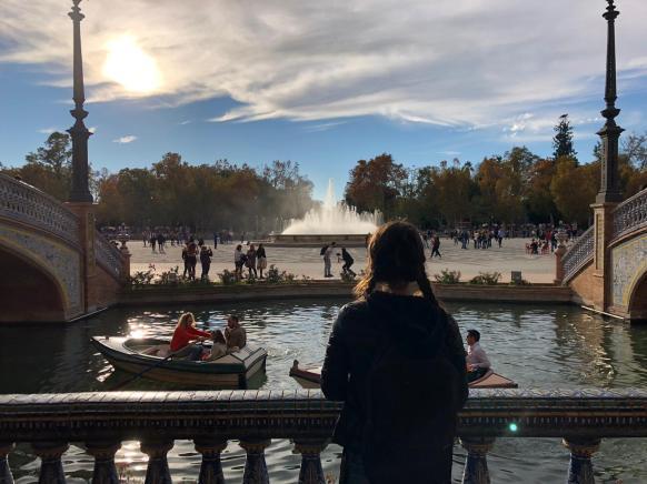 I canali di Plaza de España