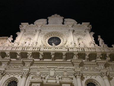 Chiesa di Santa Croce, dettaglio della facciata