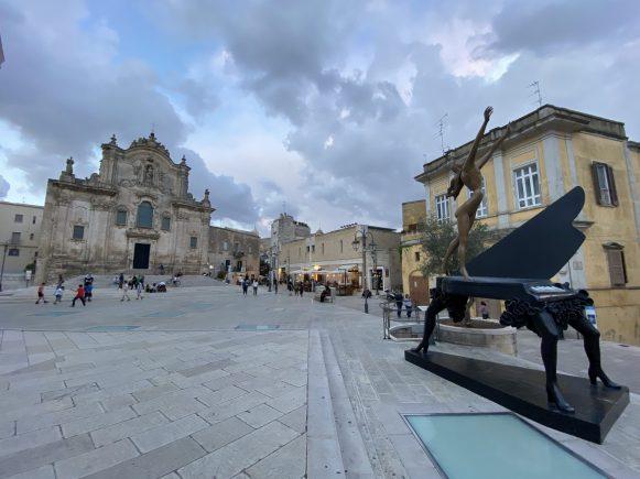 Matera, piazza San Francesco