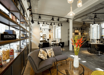 The bright, urban yet homely interior