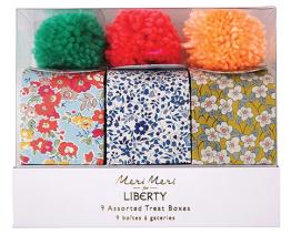 3. Meri Meri Liberty Print Treat Boxes (£7.50)