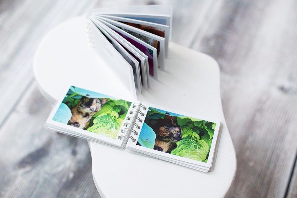 mini photo books from Social Print Studio