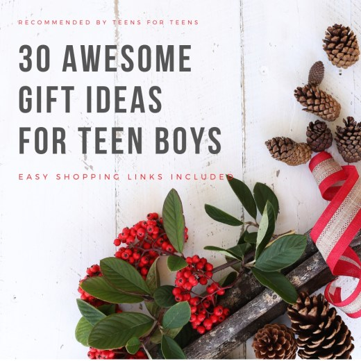 great gift ideas for teen boys, links included