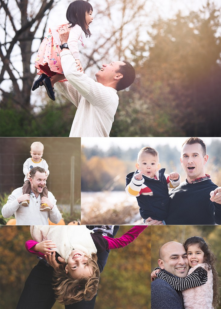fun photos with dads and their children