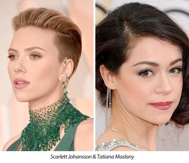 Scarlett Johansson Tatiana Maslany Around Ear Cuff