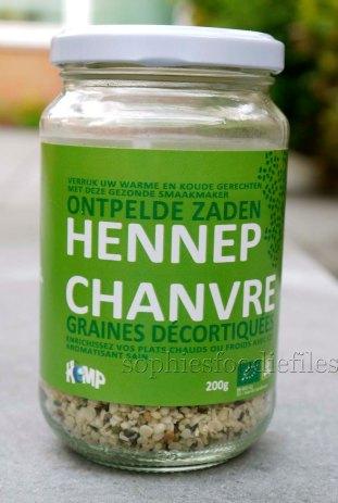 organic hemp seeds!