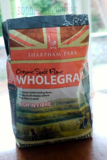 My favorite organic wholegrain spelt flour!