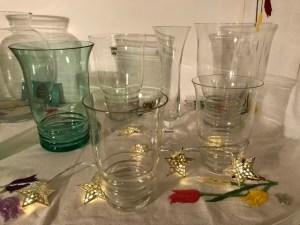 Bloemenvazen uit Leerdam en de Kristalunie Jaren 50