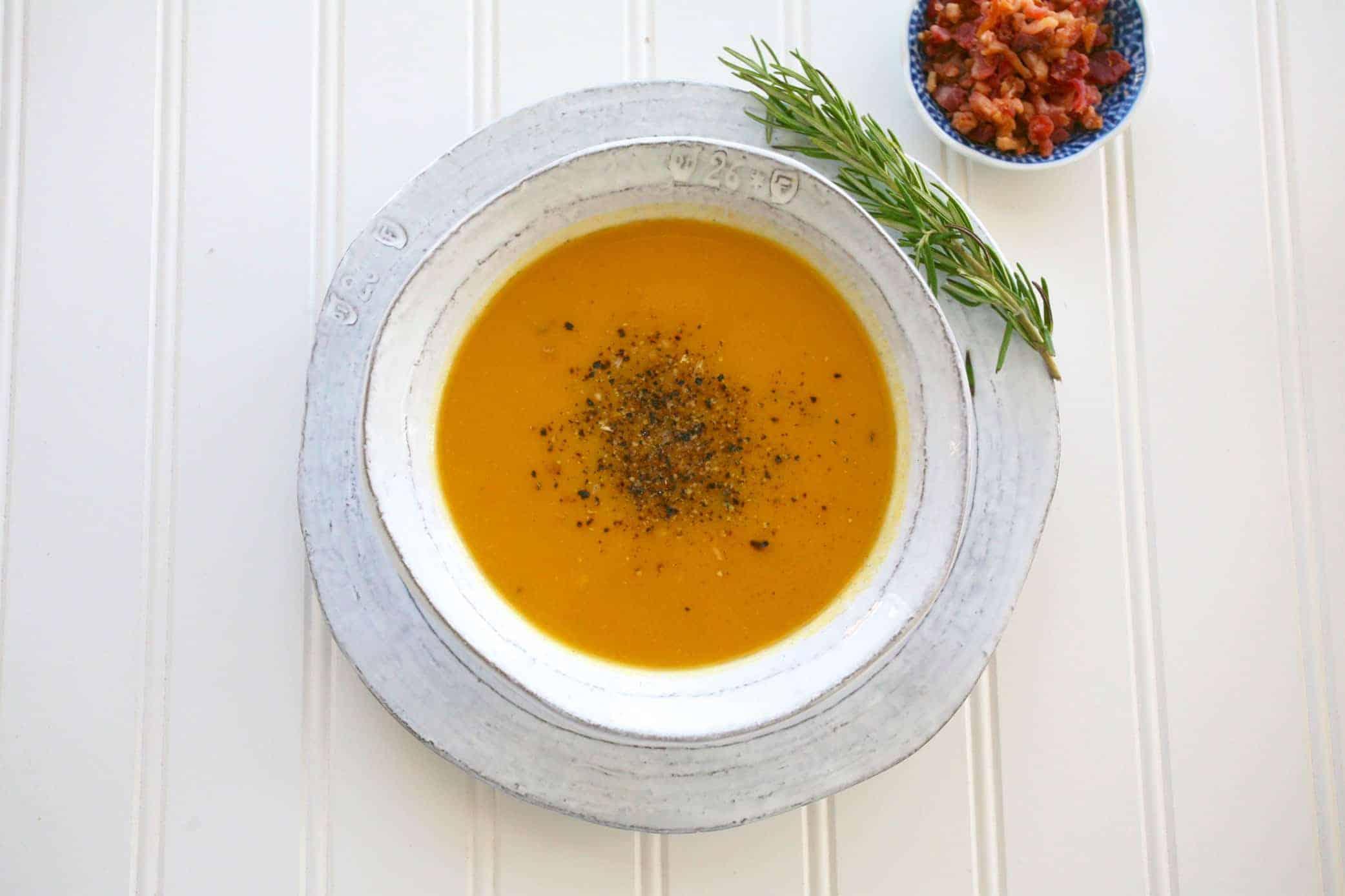 培根蔬菜奶油濃湯 Bacon Veggie Creamy Soup(壓力鍋、電鍋)