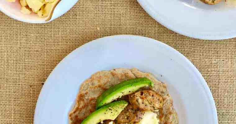 [生酮早餐] 低碳墨西哥捲餅 Low Carb Burrito- 餅皮淨碳水1g