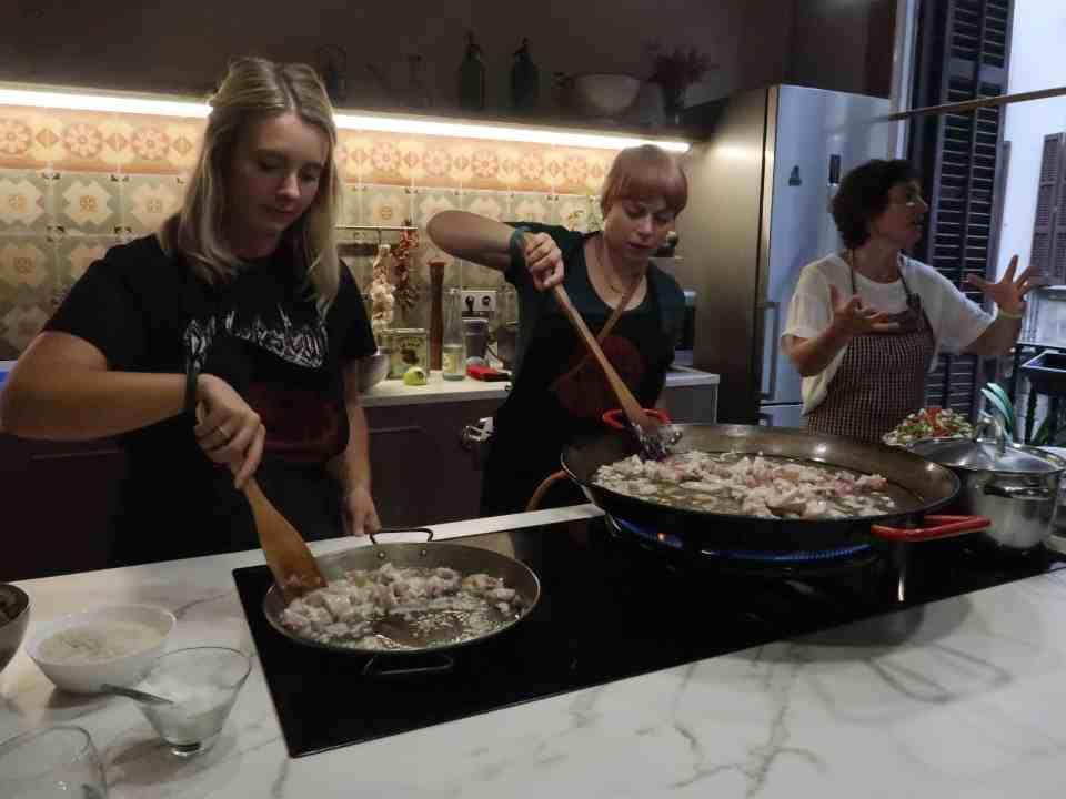 Barcelona La Rambla Cookery Class Princess Cruise