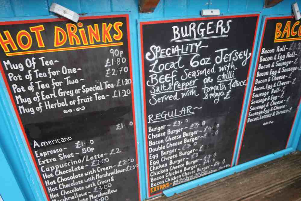Weekend in Jersey Restaurants in St Helier