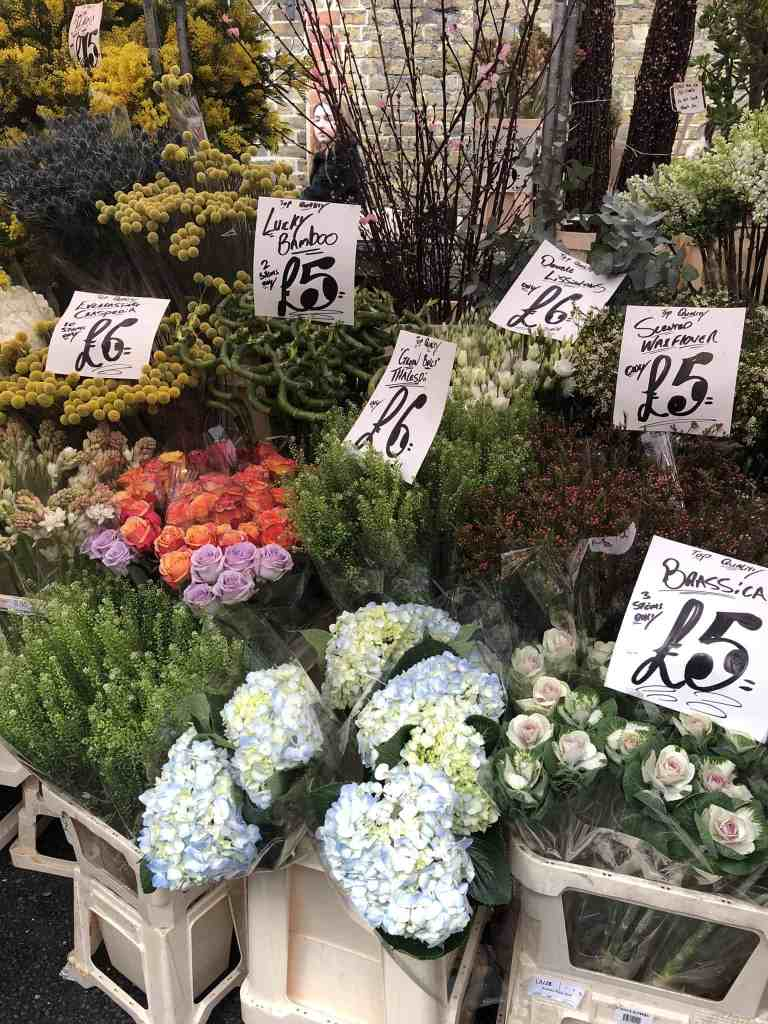 Columbia Road Flower Market London