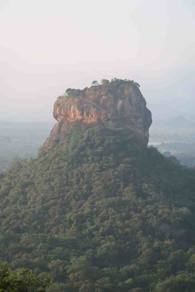 sunrise at Pidurangala Rock